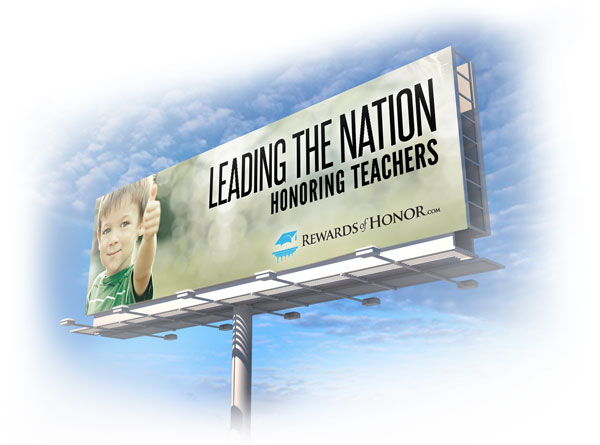 Rewards of Honor Billboard